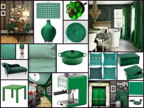 Emerald Green For Her Him The House For The Love Of