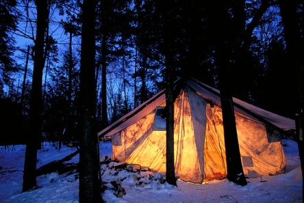 wall tent night resize